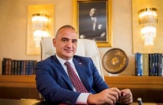 Mehmet Nuri Ersoy: Hedefimiz Nisan Ayında Turizm...