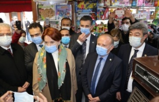 Meral Akşener ve Yetkin Öztürk'ten Ankara...