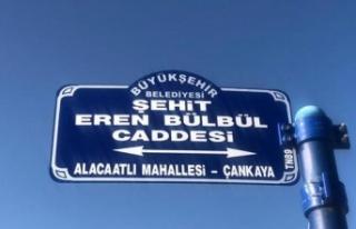 Şehit Eren Bülbül'ün İsmi Ankara'da Yaşayacak