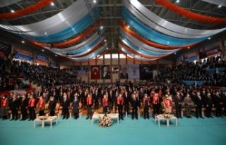 AK Gençlik Ankara Başkanı Burak Yıldız Kongrede...