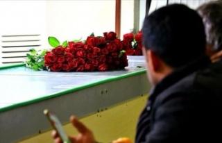 Ankara Çiçekçi Esnafı Sevgililer Günü'ne...