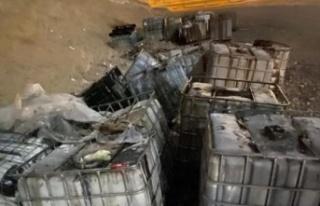 Ankara'da Açık Araziye Kimyasal Atık Bırakan...