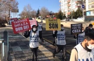 Ankara'da Ebu Hanzala Protestosuna Polis Göz...
