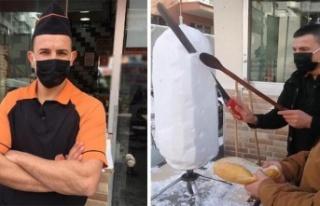 Ankara'da Kardan Döner Yapıldı: Ekmek Arası...