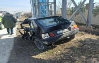 Ankara'da Korkutan Kaza: Bu Araçtan Sağ Çıktı