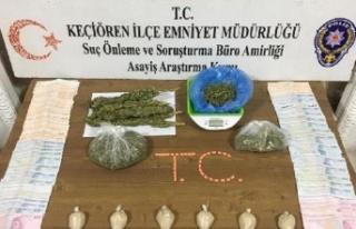 Ankara'da Uyuşturucu Satıcılarına Operasyon...