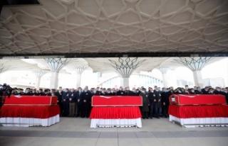 Ankara Şehitlerini Son Yolculuğuna Uğurladı