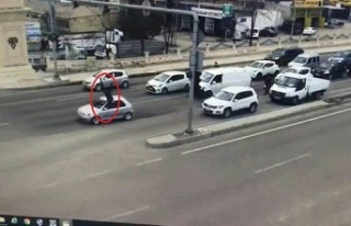 Ankara'da 'dur' İhtarına Uymayan Sürücü,...