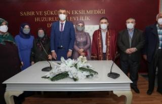 Başkan Murat Ercan İki Çiftin Nikahını Kıydı