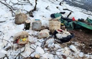 Bitlis'te PKK'lı teröristlere Ait Çok...