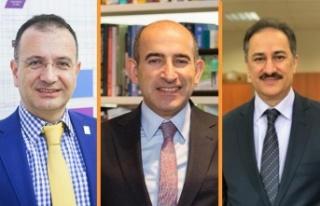 Boğaziçi Üniversitesi'nin Yeni Rektör Yardımcıları...