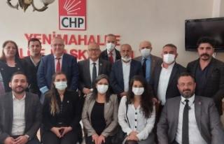 CHP Ankara'dan Yenimahalle Çıkartması