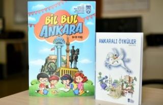 Çocuklar Ankara'yı Büyükşehir Kitaplarıyla...