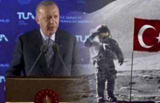 Cumhurbaşkanı Erdoğan Açıkladı: Uzaya Bir Türk...