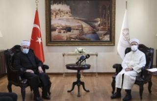 Diyanet İşleri Başkanı Erbaş, Kuzey Makedonya...