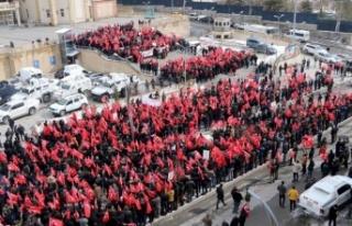 Hakkari'de PKK'ya Karşı Büyük Yürüyüş