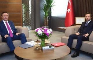 İletişim Başkanı Fahrettin Altun, Çin Halk Cumhuriyeti...