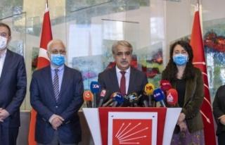 Kılıçdaroğlu HDP ile Basın Açıklamasına Katılmadı:...