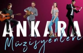 Mansur Yavaş Ankaralı Müzisyenlere Tanıtım ve...