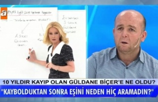 Müge Anlı'da Aranan Güldane Biçer'in...