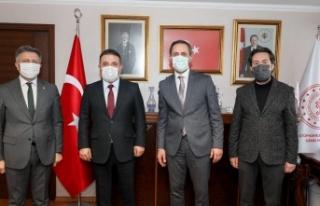 Murat Ercan'dan Ali Odabaş'a 'Hayırlı...