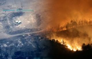 Ormanlarımızı Yakma Talimatı Veren PKK'lı...