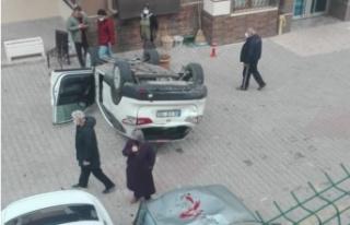 Ankara'da Pedalları Karıştıran Sürücü...
