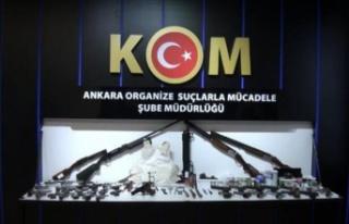 Ankara'da Silah Ticareti Yapan Örgüte Operasyon:...