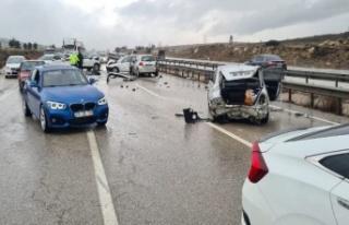 Ankara'da Zincirleme Trafik Kazası: Çok Sayıda...