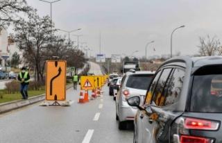 Ankara Köprülerinde Yenileme Çalışmaları Devam...