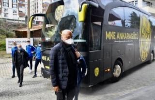 Ankaragücü Kafilesi Trabzon'a Ulaştı
