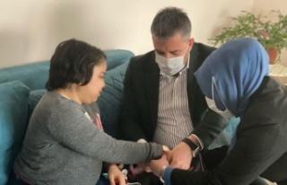 Başkan Ertuğrul Çetin'den Rabia Şenses'e Moral...