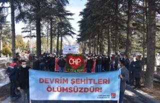 CHP'den Ankara'da Mahir Çayan Anması