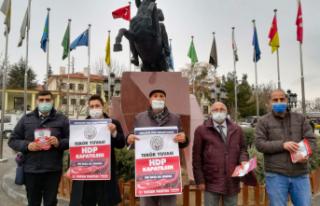 'HDP Kapatılsın' Kampanyası Polatlı'da...