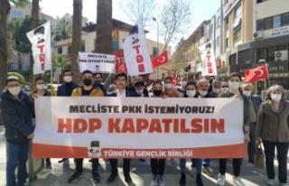 'HDP Kapatılsın' Yürüyüşleri Tüm...