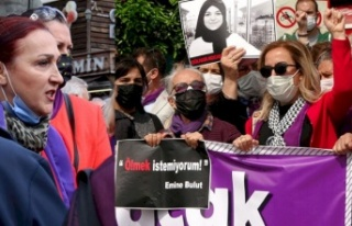 İstanbul Sözleşmesi Eylemi Yapan CHP ve İYİ Parti'liler...