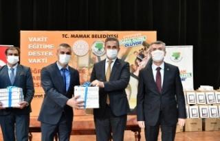 Mamak Belediyesi'nden Tablet Desteği