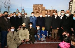Mehmet Akif Ersoy Parkı ve Anıtı Keçiören'de...