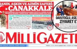 Milli Gazete'den Saadet Partisi Lideri Karamollaoğlu'na...