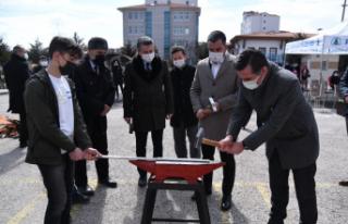 Pursaklar'da Nevruz Ateşi Yakıldı!