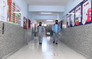 Pursaklar'da Okullar Öğrenciler için Hazır