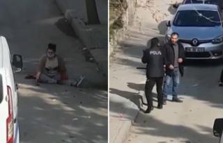 Sokak Ortasında Dehşet! Ankara'da Eski Eşinin...