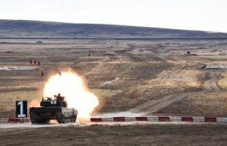 TSK'dan Ankara'da Tank Atış Eğitimi