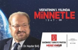 12-18 Nisan Prof. Dr. Haydar Baş'ı Anma Haftası...
