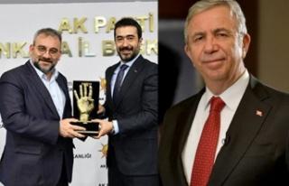 AK Parti Ankara'dan Mansur Yavaş'a Destek...
