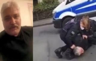 Alman Polisinden Türk İş İnsanı Emre Tümsek'e...