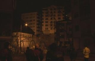 Ankara'da 8 Katlı Apartmanın Temeli Kaydı:...