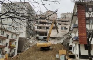 Ankara'da 900 Kişinin Evsiz Kaldığı Mahallede...