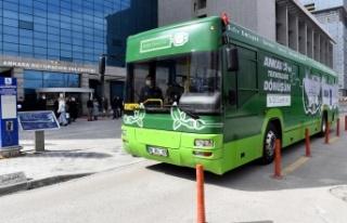 Ankara'da Elektrikli EGO Otobüsleri için Dönüştürme...