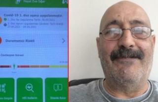 Ankara'da Kardeşi Korona Olan Adam İstanbul'da...